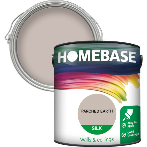 Homebase Silk Paint - Parched Earth 2.5L