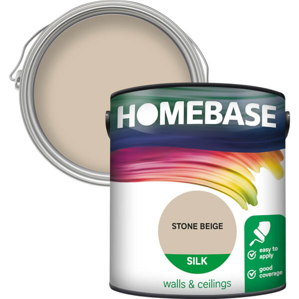 Homebase Silk Paint - Stone Beige 2.5L