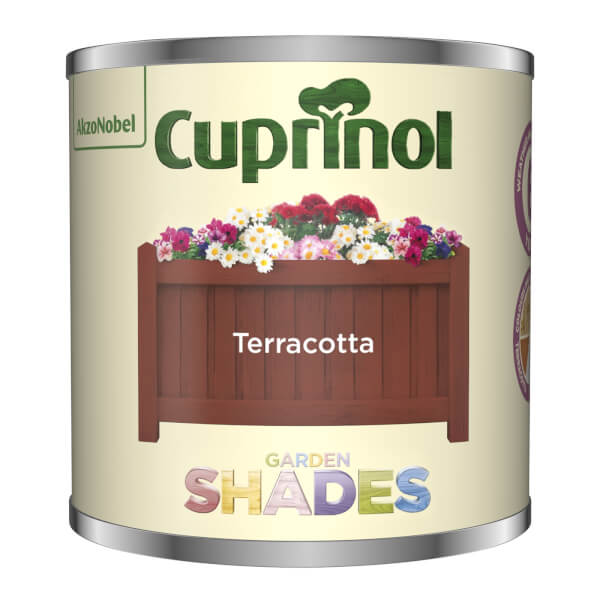 Cuprinol Garden Shades Tester - Terracotta - 125ml