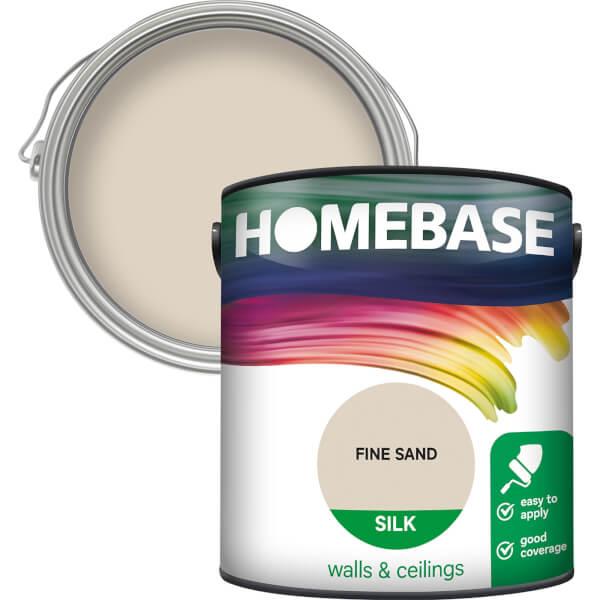 Homebase Silk Paint - Fine Sand 2.5L