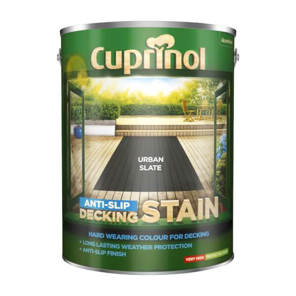 Cuprinol Anti-Slip Decking Stain - Urban Slate - 5L