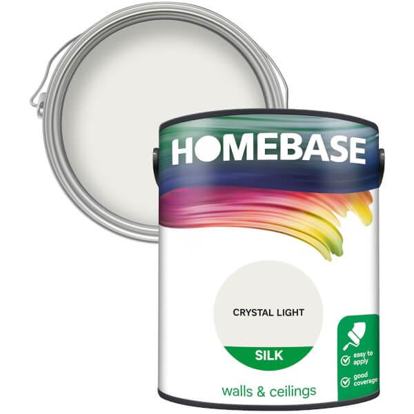 Homebase Silk Paint - Crystal Light 5L