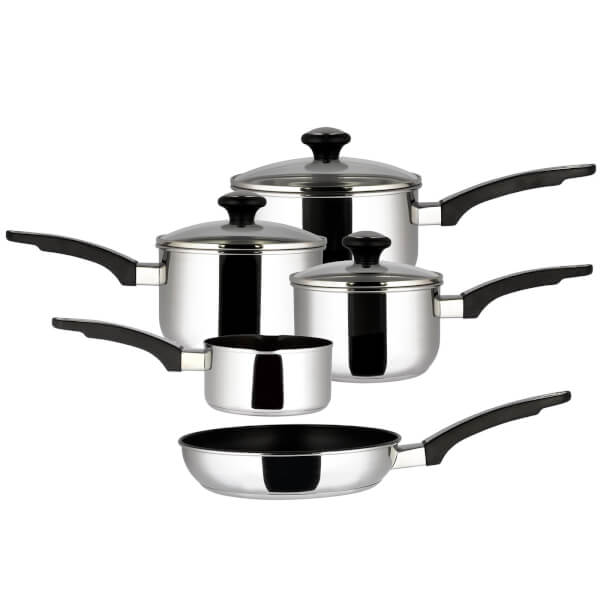 Prestige Everyday Induction Stainless Steel Cookware - Set of 5