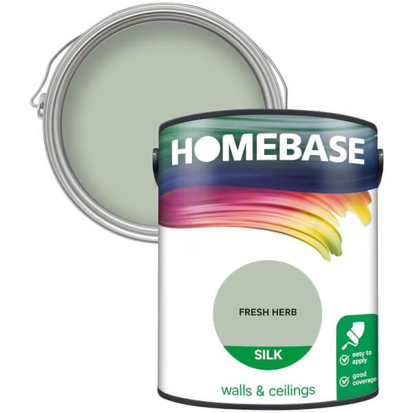 Homebase Silk Paint - Fresh Herb 5L