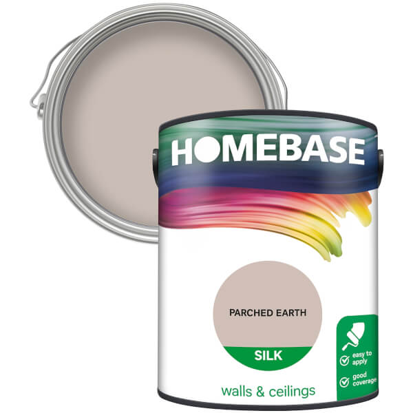 Homebase Silk Paint - Parched Earth 5L