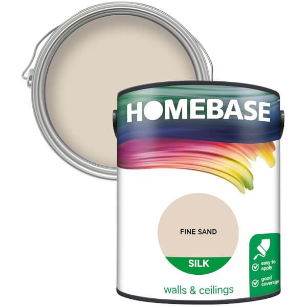 Homebase Silk Paint - Fine Sand 5L