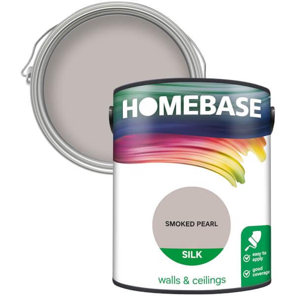 Homebase Silk Paint - Smoked Pearl 5L