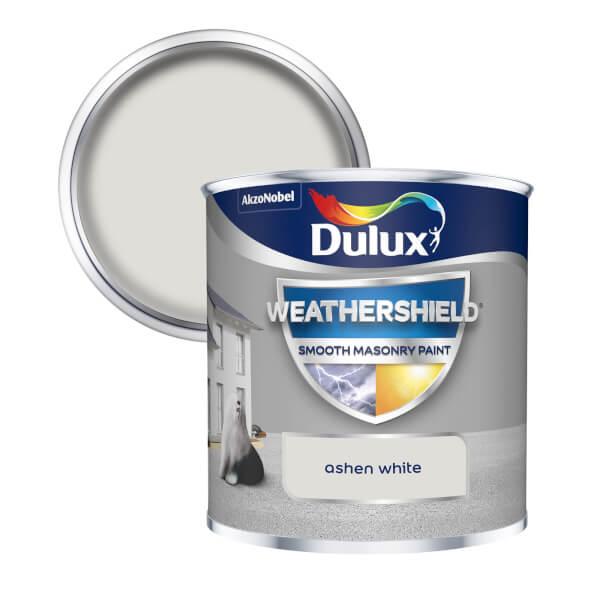 Dulux Weathershield Smooth Masonry Paint - Ashen White - 250ml