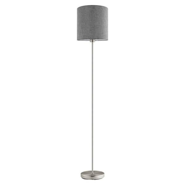 Eglo Pasteri Floor Lamp - Satin Nickel