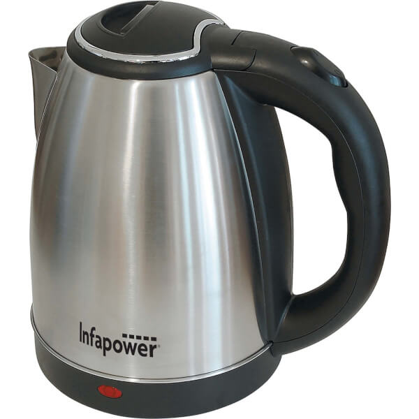 Infapower 1.8L Cordless Kettle - Stainless Steel