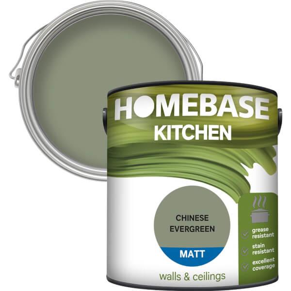 Homebase Kitchen Matt Paint - Chinese Evergreen 2.5L