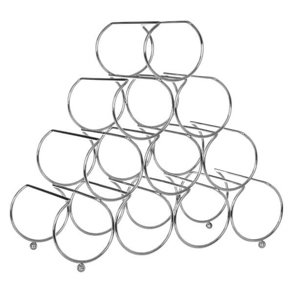 Pyramid Wine Rack