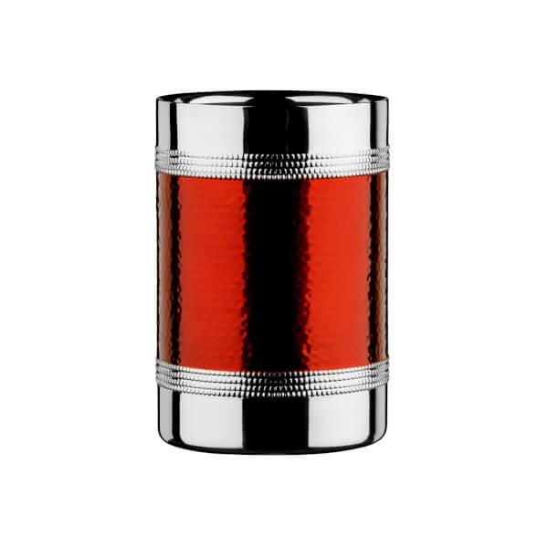 Bottle Cooler - Hammered Red Band