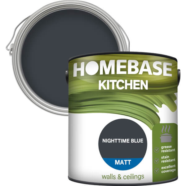 Homebase Kitchen Matt Paint - Nighttime Blue 2.5L