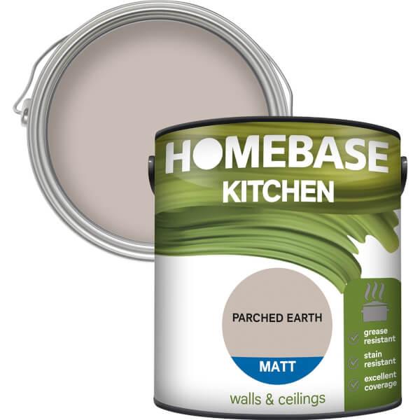 Homebase Kitchen Matt Paint - Parched Earth 2.5L