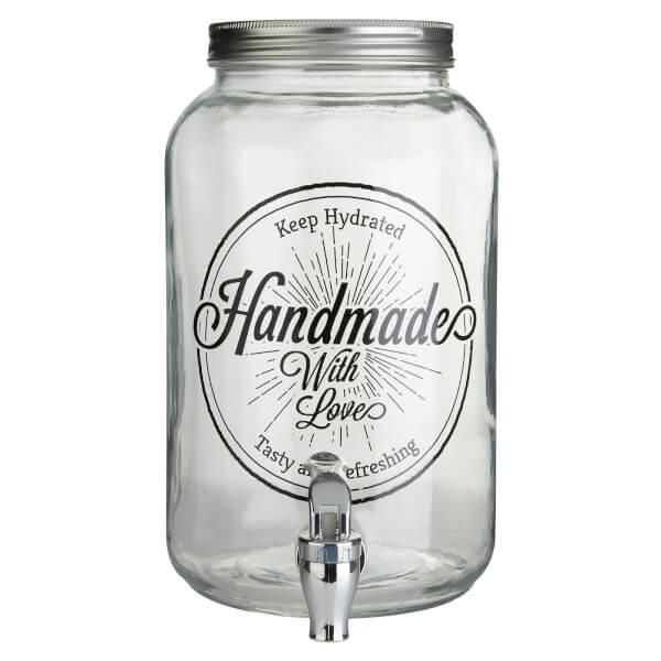 Glass Drinks Dispenser - 3500ml
