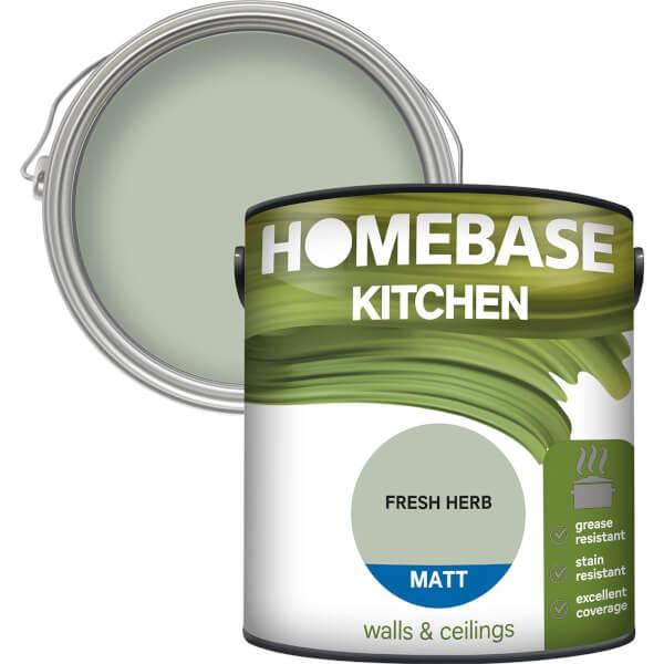 Homebase Kitchen Matt Paint - Fresh Herb 2.5L