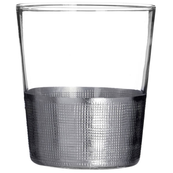 Apollo Clear Glass Tumblers - Set of 4