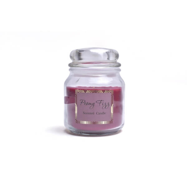 Deco Luxe Glass Jar Candle
