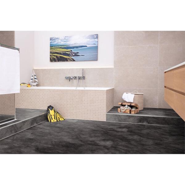 EGGER HOME Aqua+ Leon Slate 8mm Laminate Flooring