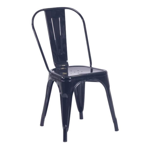 Billy Bistro Chair - Set of 2 - Black