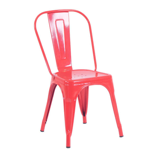 Billy Bistro Chair - Set of 2 - Red