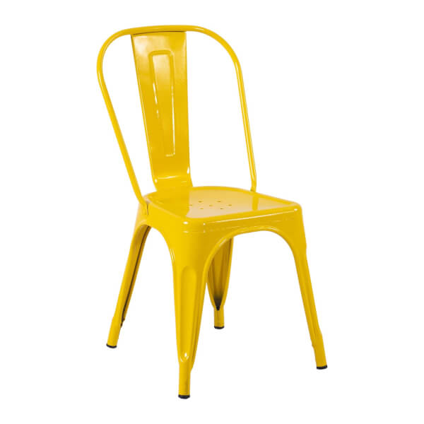 Billy Bistro Chair - Set of 2 - Yellow