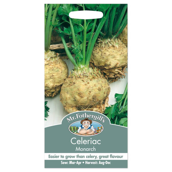 Mr. Fothergill's Celeriac Monarch Seeds
