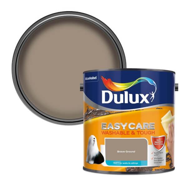 Dulux Easycare Washable & Tough Brave Ground Matt Paint - 2.5L