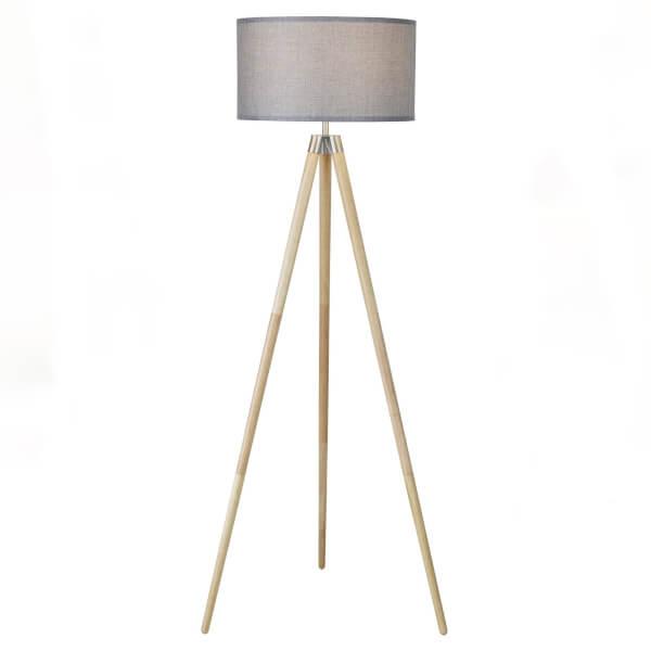Noah Tripod Floor Lamp - Grey