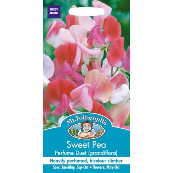 Sweet Pea Perfume Duet (Lathyrus Odoratus) Seeds