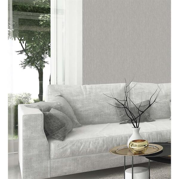 Belgravia Decor Amara Silver Texture Wallpaper