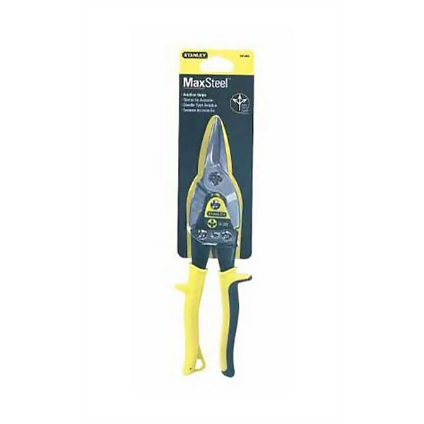 Stanley Aviation Snips - Straight - 250mm