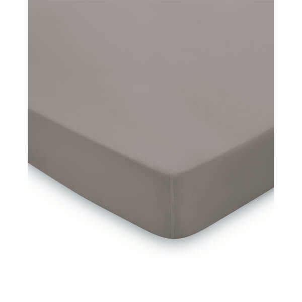 Fitted Super King Sized Sheet - Gunmetal
