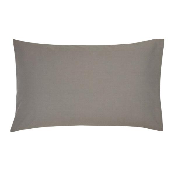 Pb 300tc Pdye Pillow Case Std Gunmetal