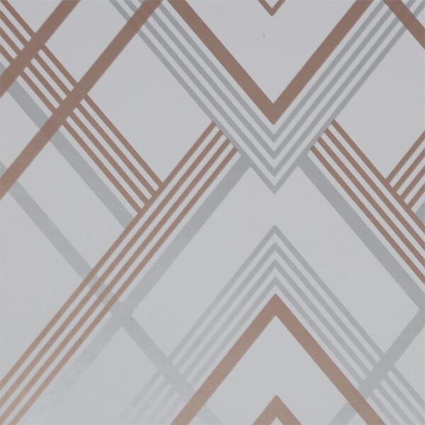 Sublime Ritz Grey / Rose Gold Wallpaper