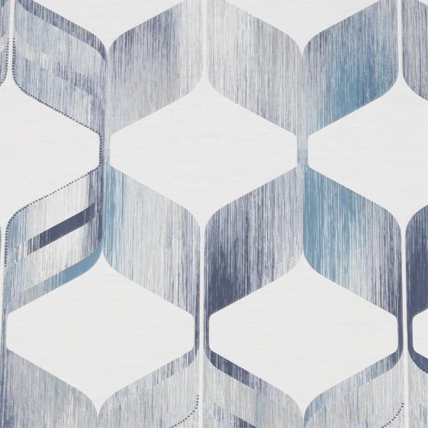 Fresco Maya Wallpaper - Blue