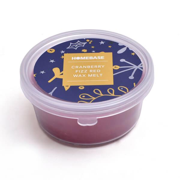 Red Wax Melt - Cranberry fizz