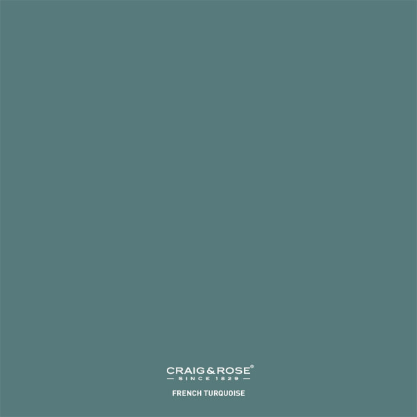 Craig & Rose 1829 Colour Patch French Turquoise