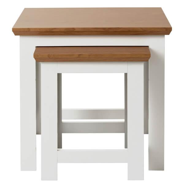 Diva Nest of 2 Tables - Ivory