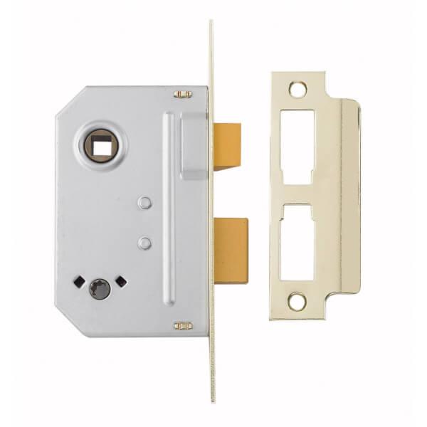 Yale Bathroom Lock 64mm / 2.5 inches - Chrome