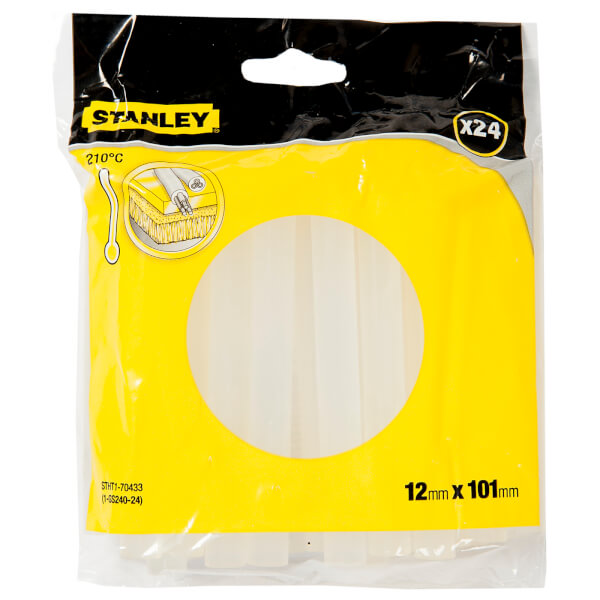STANLEY General Purpose 12x101 mm Glue Stick – Pack of 24 (STHT1-70433)