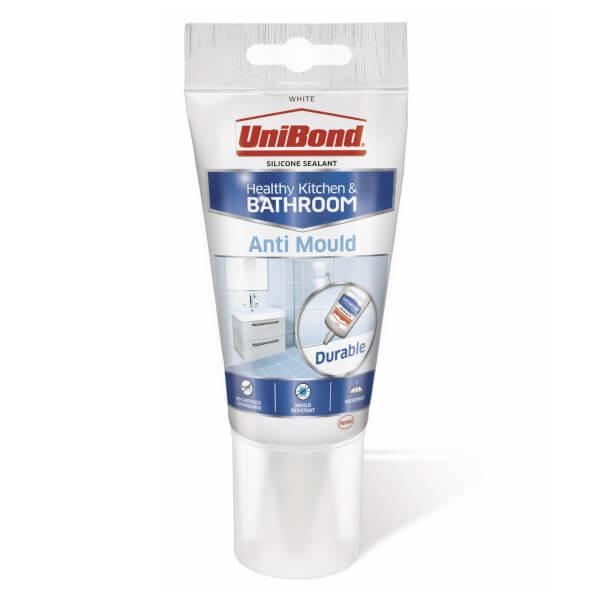 UniBond Sealant Anti Mould Tube White - 150ml