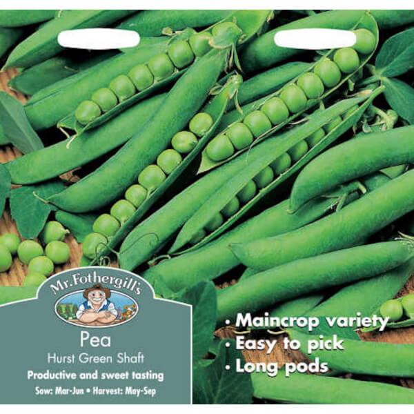 Mr. Fothergill's Pea Hurst Greenshaft (Pisum Sativum) Seeds