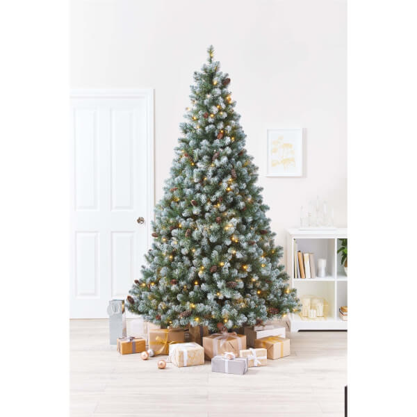 AD.   7ft 6in Snowy Derry Premium Tree