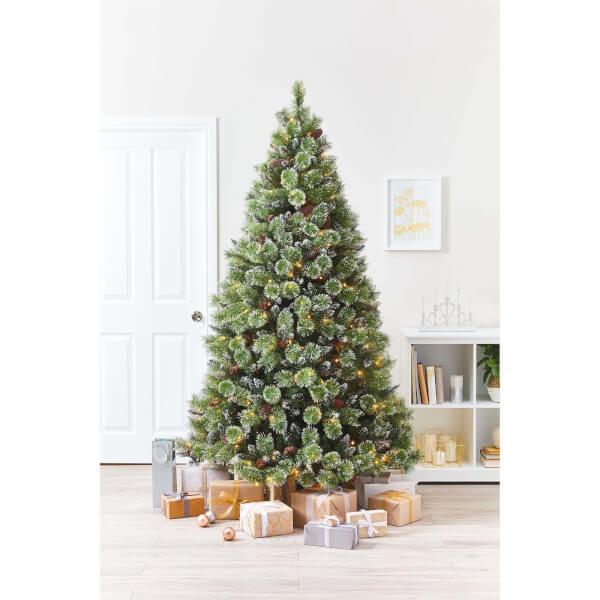 AG.   7ft Banff Snowy Premium Tree