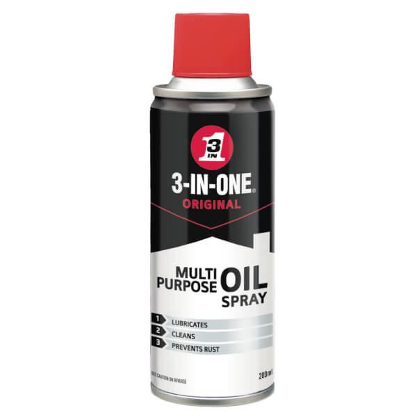 3-in-One Multipurpose Oil Spray - 200ml