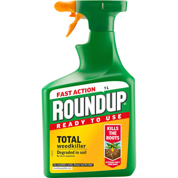 Roundup Total Ready To Use Weedkiller - 1L