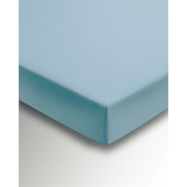 Helena Springfield Copenhagen Plain Dye Fitted Sheet - King - Ocean