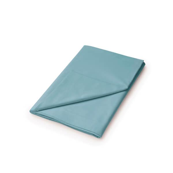 Helena Springfield Copenhagen Plain Dye Flat Sheet - Super King - Ocean